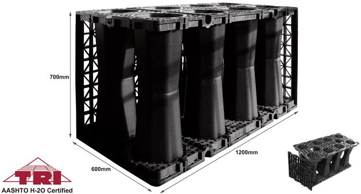 Soakaway Crates, Plastic Underground Stormwater Crates
